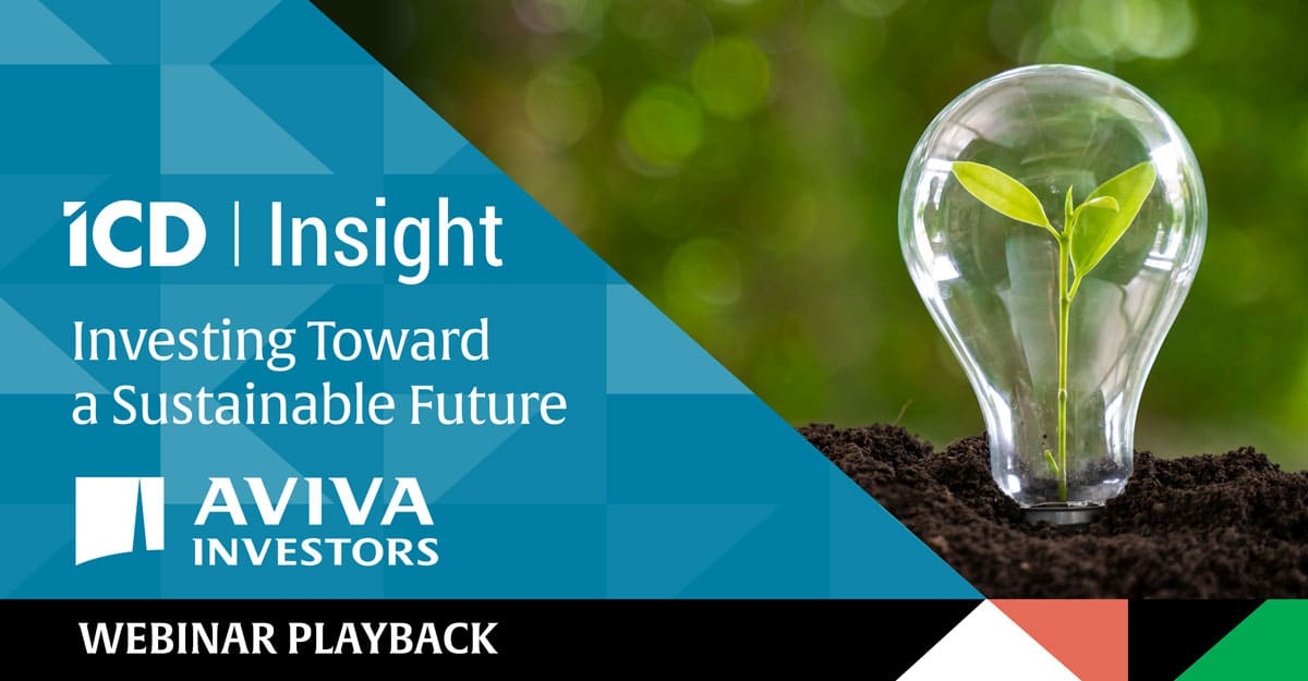 ICD Insight: Investing Toward a Sustainable Future