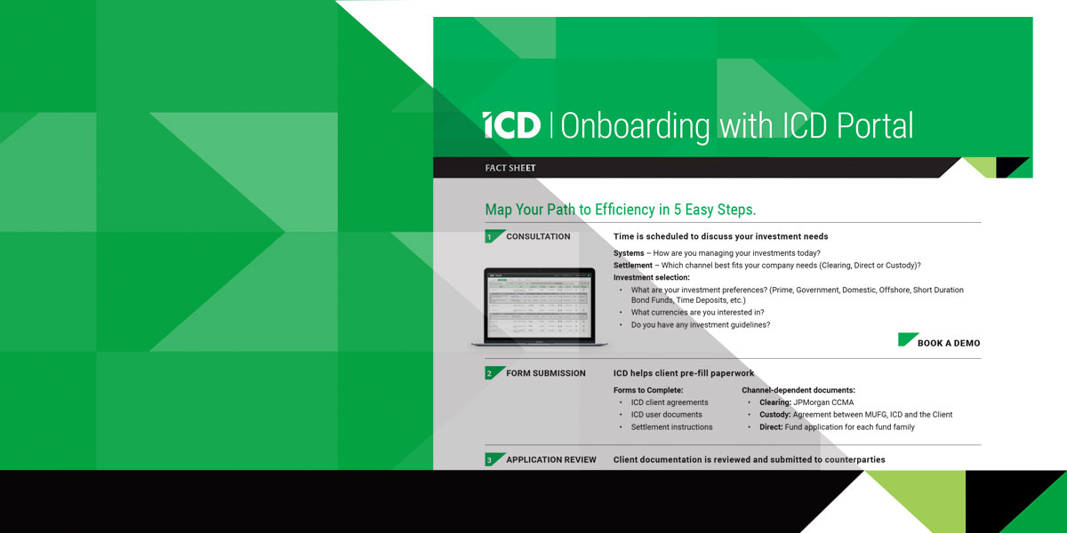 Onboarding with ICD Portal